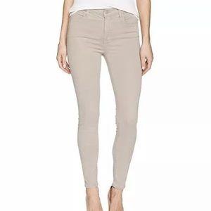J Brand Luxe Sateen High Waist Jeans 27